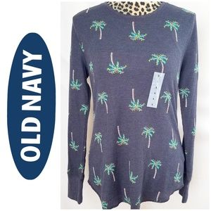 🎀 3/$25! NWT Old Navy Christmas Palm Tree Top